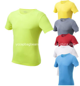 Promotional Custom Logo Blank Women′s T-Shirt pictures & photos