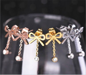 Women Gifts Stainless Steel Jewelry Fashion Jewelry Earrings (hdx1149) pictures & photos