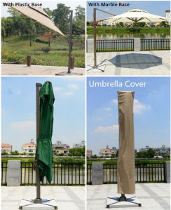 Promotional Outdoor Umbrella Patio Umbrellas for Hotel / Swimming Pool / Villa pictures & photos