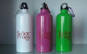 High Quality Handle Lid Food Grade Aluminum Bottle Sports Bottle pictures & photos