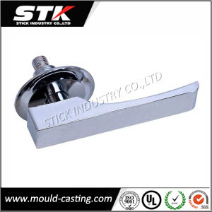 High Precision Zinc Die Casting Door Handle (STK-ZDD0015) pictures & photos