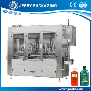 Full Automatic Lube Oil Liquid Filling Machine for Bottle pictures & photos