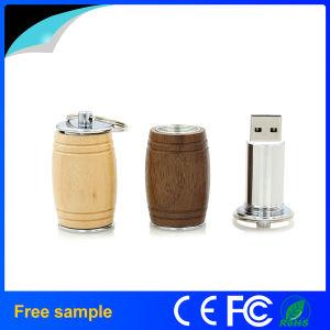 Natural Oak Barrel Wood USB Flash Drive 8GB pictures & photos