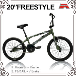 20 Inch Army Color BMX Bicycle (ABS-2032S) pictures & photos