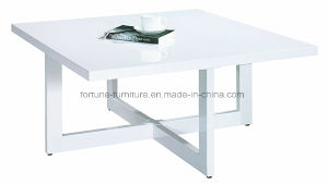 Modern Wooden UV High Gloss White Coffee Table 5902101 pictures & photos