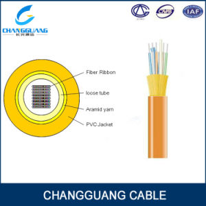 Indoor Ribbon Fiber Cable Factory Price with High Quality pictures & photos
