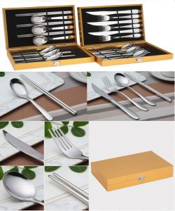 12 Piece Stainless Steel Tableware Cutlery Flatware Set (QW-0778) pictures & photos