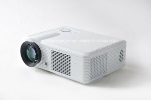 Multimedia LED Projector for Home Use