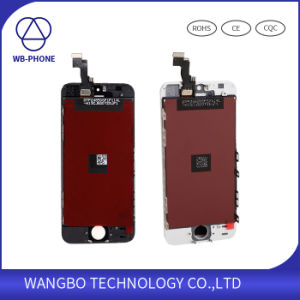 Factory Wholesale Mobile Phone LCD Screen for iPhone 5s pictures & photos