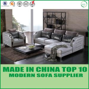 Euro Living Room L Shape Stylish Sofa Set pictures & photos