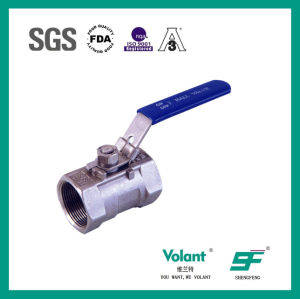 Stainless Steel Straight Through Rapid Installed Ball Valve pictures & photos