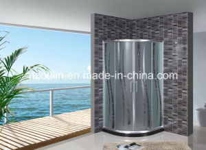 Acid Glass Shower Enclosure (AS-902 without tray) pictures & photos