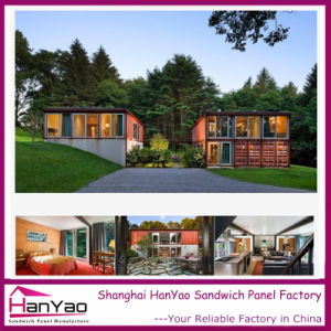 2015 New Steel Structure Luxury Prefabricated Container Houses pictures & photos