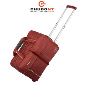 Chubont High Qualilty Waterproof Duffle Bag with Trolley pictures & photos