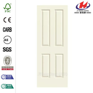 30. in. X 80 in. Smooth 4-Panel Painted Door Slab pictures & photos