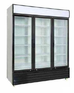 Commercial Upright Display Cooler Glass Door Refrigerator pictures & photos