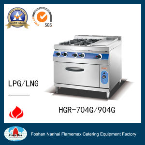 Hgr-74G 4-Burner Gas Range with Gas Oven pictures & photos