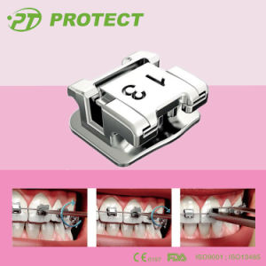 Low Profile Self Ligating Orthodontic Brackets