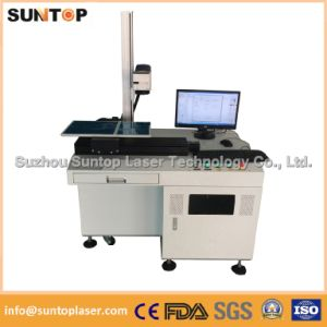 Arts and Crafts Laser Fiber Marking/Desktop Marking Laser Machine for Metal Parts pictures & photos