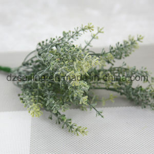 Plastic Leaves Aritificial Flower for Wedding/Home/Garden Decoration (SF16297A) pictures & photos