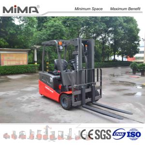 Electric Forklift with Side Slide Battery Optional pictures & photos