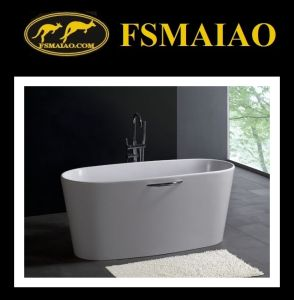 Modern Style Stone-Resin Bathtub Solid Surface (BS-8602) pictures & photos