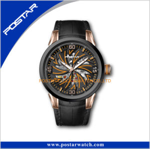 The Leather Watch Band Automatic Watch pictures & photos