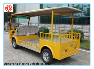 CE Approved 2 Seater Electric Low Chassis Truck