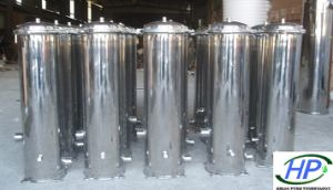 Stainless Steel Cartridge Filter Housing for RO Water Purification pictures & photos
