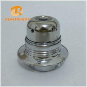 E26 E27 Lamp Socket Metal Iron Light Bulb Holder pictures & photos