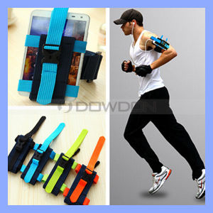Outdoor Sports Arm Band Wrist Bag Case Running Jogging Sports Gym Keys Armband Wrist Case Money Mobile Phone Pouch pictures & photos