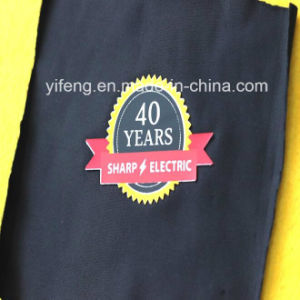 Soft Silicone Heat Press Label Patch, Silicone Logo Transfer for Garment, Caps, Bags, Clothing pictures & photos