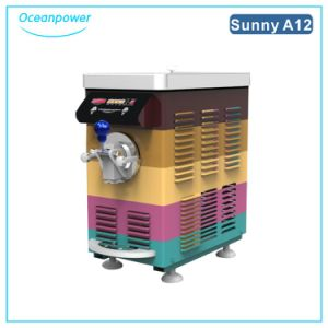 Mini Soft Ice Cream Machine (Oceanpower Sunny A12-Rainbow) pictures & photos