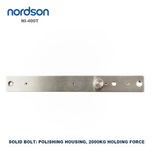 Fail Secure Sturdiness Electronic Lock with Key Electric Bolt Lock Manufacturer pictures & photos