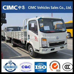 Sinotruck HOWO 4X2 8 Ton Light Cargo Trucks for Sale pictures & photos