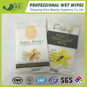 Single Pack Mosquito Wet Wipes Insect Repellent Wipes pictures & photos