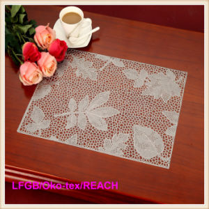 PVC Pressed and Cutout Placemat / Doily pictures & photos