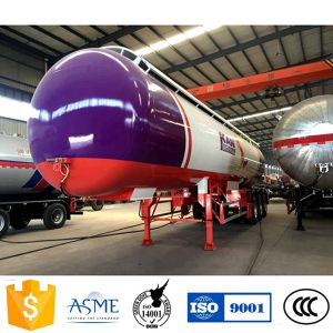 56000 Liters/14580 Gallons 3 Fuwa /BPW Axles GLP LPG Tank Trailer pictures & photos