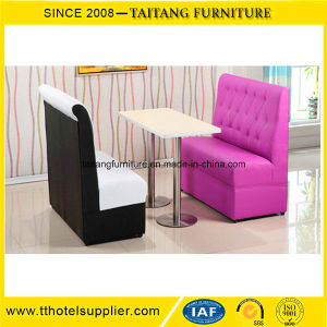 PU Leather Dining Restaurant Booth Set Wholesale pictures & photos