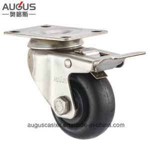 Stainless Steel 304 Series High Temperature Wheel Swivel with Brake