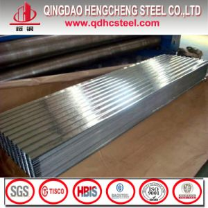 Zinc Coated Corrugated Gi Roofing Sheet pictures & photos