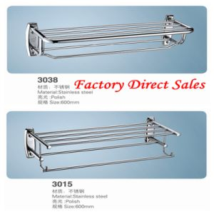 Stainless Steel Bathroom Accessories Towel Rack (3038) pictures & photos