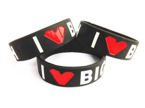 Colorful Silicone Bracelet/Wristband for Promotional Gift pictures & photos