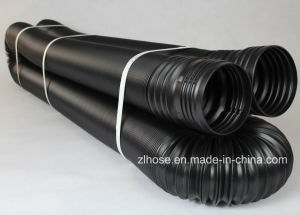 Flexible Solid Drain Pipe (100mm X 16m) pictures & photos