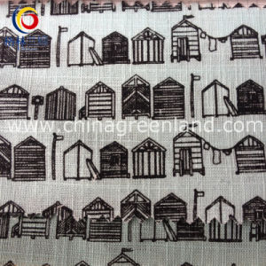 Cotton Lmitate Linen Printed for Children′s Fabric (GLLML187) pictures & photos