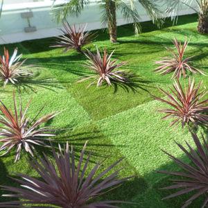 11000d Diamond Shape artificial Turf for Garden pictures & photos
