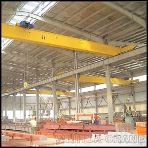 Top Running Single Beam Electric Hoist Overhead Crane