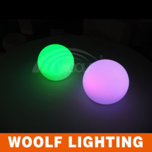 Waterproof Battery Operated LED Light Disco Ball pictures & photos