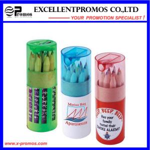12PCS Hb Wooden Pencil in Kraft Paper Tube Set (EP-P9076) pictures & photos