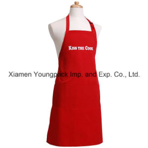 Personalized Custom Funny Men′s Flirty Red Cotton Canvas Cooking Apron pictures & photos
